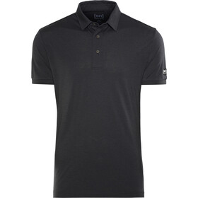 super.natural Essential Polo Shirt Men Jet Black